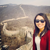 Great Wall of China, Beijing China March 2016