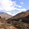 ヒマラヤトレッキング11日目 美しい渓谷を横目に、4000m越えの地点を目指す(パンボチェ→ディンボチェ)