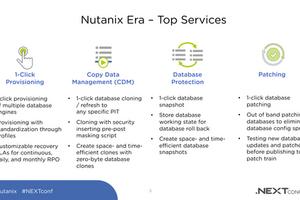 Nutanix Era でDBサーバ運用を自動化くん