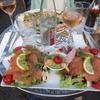 パリのどこかで食べたランチ(Lunch in Paris, France)