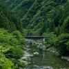 奈良県の絶景。渓流釣りの人気スポット大峰高野街道すずかけの道天ノ川へ。不動滝とか、廃校の校舎が残っているてんかわ天和の里とか。