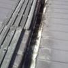 札幌 屋根工事 スノーダクト 木製スノコから塩ビスノーダクトカバーへ交換