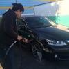 【初体験】 洗車してきた