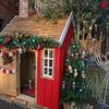 街ではクリスマスの飾り付けが始まりました。        ファシオールワンダーランド