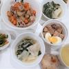 今日(9/23)の夕飯は豚の角煮、筑前煮、水餃子等