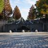 横浜散歩 ガウディを思い出させる山下公園