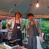 佐久穂のブルーベリー畑イベントに参加。