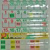 シーガル ビニールポケットカレンダー 2006