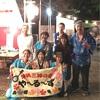 8月24日  保土ヶ谷区川島第一町内会杉山神社お祭りで演奏しました