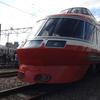 【鉄道ニュース】小田急電鉄ロマンスカー「LSE」7000形7003編成デハ7003号車がロマンスカーミュージアム展示に向けて動く
