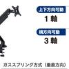 机上を広く使えるキングジムの「モニターアーム」に新商品が追加
