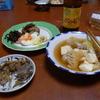 幸運な病のレシピ( 661 ) 夜:モツ焼き、汁、シシャモ焼き