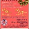 【お知らせ】12/8(金)・12/10(日)布で作るクリスマスリースWS!in八丈島cafeHANAHANA