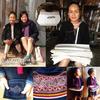 ラオス北部ルアンナムターからランテン(レンテン)族の新作コースターが届きましたよ♫