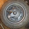 4号機 タイヤ交換