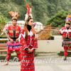 タイヤル族の美女の微笑に注意。烏来の酋長文化村