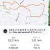 ロングDay1 早渕川から都築緑道23km