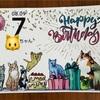 【祝!猫さん生誕祭】きーたん7歳になりました(ΦωΦ)