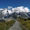ニュージーランド周遊の旅⑪:マウント・クックで氷河を見ながらハイキング!