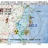 2017年09月09日 15時20分 宮城県沖でM3.3の地震