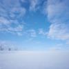 雪の色は空の色