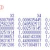 Real estate valuation data set の分析4 - R言語のcor関数で相関マトリックスを作り、相関の低い順に組み合わせを並び替える。