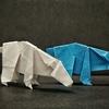 おりがみ:シロクマ (Origami : Polar Bear)