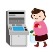 【イライラ】ATMを占領し続ける変なオバサン(手数料じゃない!)