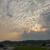 158 流氷の 雲間