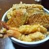 今日の晩飯 天丼を作ってみた