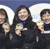 日本勢、金メダル計4個に…世界レスリング女子