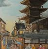 八坂の塔でキャラストレーション Live Charastration @ YASAKA tower