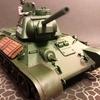 【19/5/17完成】タミヤ 1/35スケール T34/76戦車(ソ連、WWⅡ)