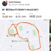RunField 土曜駒沢5kmTT+1km