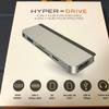 来るiPad OSに備えて!iPad Pro専用USB-Cハブ「HyperDrive」