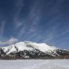 春の雪山 至仏山と尾瀬ヶ原