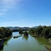 一日一撮 vol.600 府中湖1:緑の湖と晴天