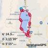 木崎湖2周ラン