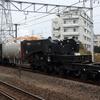 シキ801 特大輸送列車を撮る 貨物列車撮影 12/12