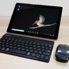 【レビュー】Surface Goにバッファローのモバイルキーボードを組み合わせたら、荷物を約90gも軽くできる!