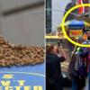 においに惑わされてニューヨークの'ホットドッグ屋'に駆けつけた'万匹'ミツバチ大騒動