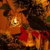 100均と観葉植物でクリスマスツリーを作る