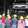 2年生:まちたんけん④ 市民館、消防署、自動車修理工場