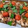 オーブンで「トマトと鶏もも肉のロースト」を作ってみた。