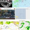 【台風情報】日本の南東には熱帯低気圧・まとまった雲の塊が存在(96W・97W)が存在!今後南東の台風の卵が台風26号となって10月下旬に関東の東を通過!?気象庁・米軍・ヨーロッパ・NOAAの進路予想は?