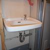 洗面台取り付け 都営住宅