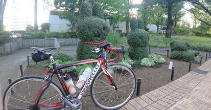 【行ったつもりシリーズ】幻となった聖火リレーのコースをサイクリングしてみた!~ついに聖火と遭遇!?<東京都編13>