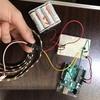 【Arduino】LEDシリアルテープを光らせる