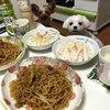 お泊り会!友人と一緒に作った夕食!