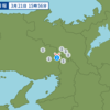 午後3時56分頃に大阪府北部で地震が起きた。